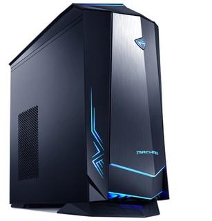 MACHENIKE 机械师 F117-D 台式机 黑色(酷睿i7-10700、RTX 2060 6G、16GB、256GB SSD+1TB HDD)