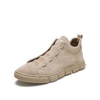BASTO/百思图 专柜同款牛皮革潮流运动男休闲鞋