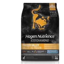 NUTRIENCE 哈根纽翠斯 黑钻系列鲜活禽肉口味冻干全猫粮 11磅+小李子猫罐4罐