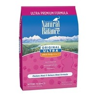 5日0点:Natural Balance 天衡宝 雪山鸡肉三文鱼特级全猫粮 15磅