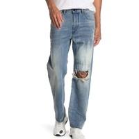 DIESEL 迪赛 Kodeck Distressed Straight 男士牛仔裤