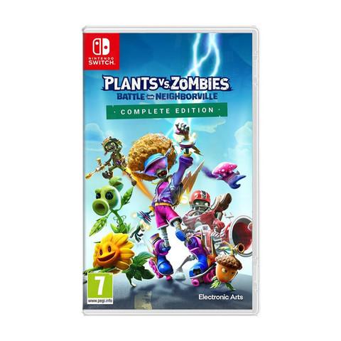 任天堂 Switch游戏 植物大战僵尸:和睦小镇保卫战 中文 预售