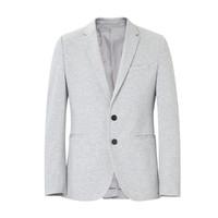 ME&CITY 男式基本款休闲西装外套