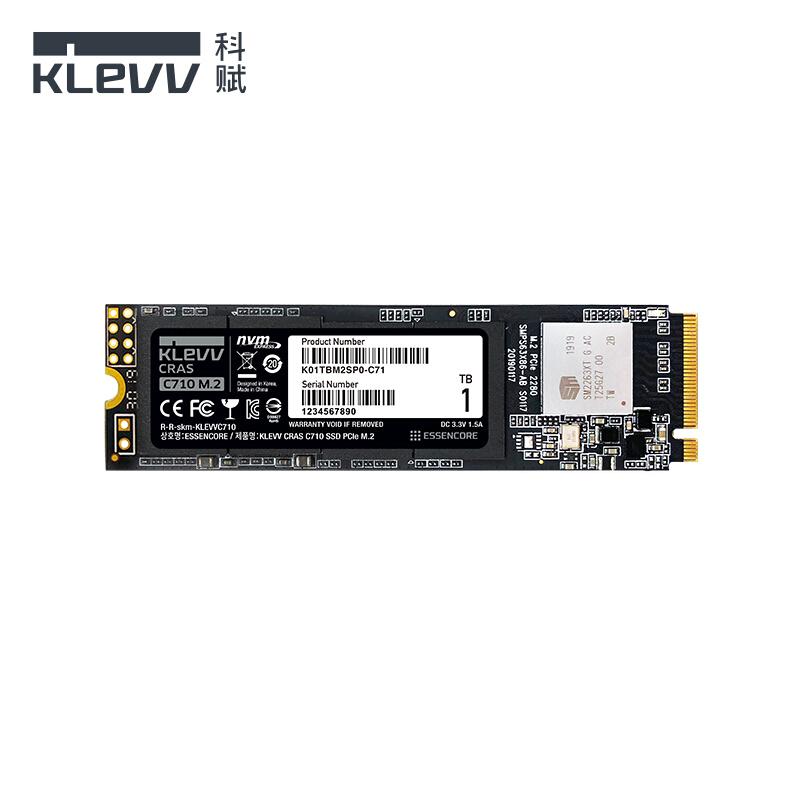 KLEVV 科赋 C710 M.2接口固态硬盘 1TB