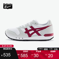 Onitsuka Tiger 鬼塚虎 ALVARADO 中性休闲运动鞋 1183A507 白色/红色 41.5