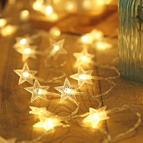 艾欣丽 LED小星星灯 2m10灯 电池款