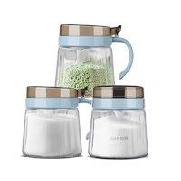 SUPOR 苏泊尔 调料玻璃罐套装 420ml*3个