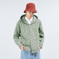 史努比 x GXG联名款 GHB103001I563 男款休闲连帽衬衫