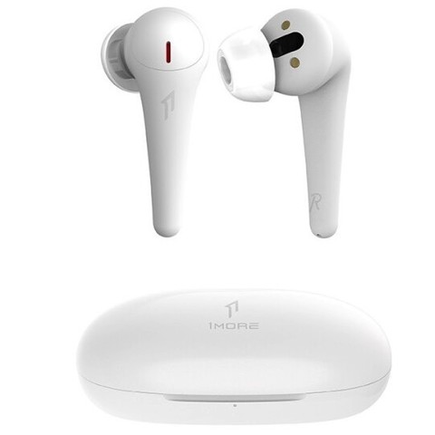 1MORE 万魔 ComfoBuds Pro 舒适豆降噪版 真无线蓝牙耳机 云母白/钛黑