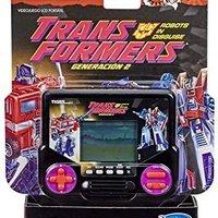Hasbro 孩之寶 偽裝的《泰格電子變形金剛》2代機器人,電子液晶電視游戲復古風格 *3件