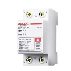 德力西电气(DELIXI ELECTRIC)德力西自复式过欠压保护器上进下出 自复式220V家用  DZ47GQF 1P+N 40A *3件