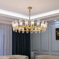 金幻客廳水晶吊燈后現代輕奢餐廳港式別墅大氣設計師創意臥室燈具