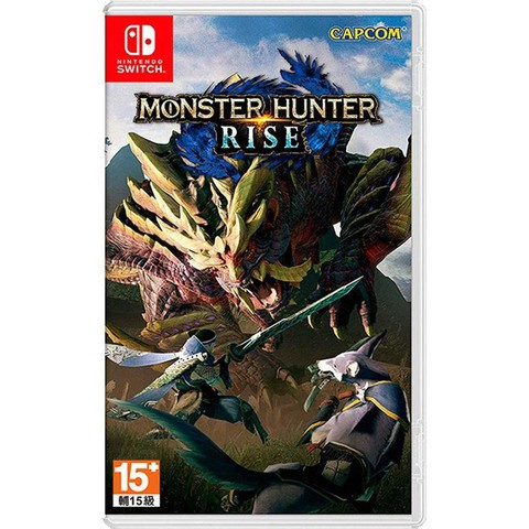 港版 任天堂Switch NS游戏 怪物猎人崛起 Hunter Rise 中文游戏