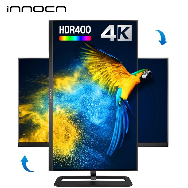 INNOCN 联合创新 NF2DU 27英寸IPS显示器(3840×2160、HDR400、60Hz)