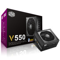 COOLERMASTER 酷冷至尊 V550 额定550W 电源(80PLUS金牌、全模组)