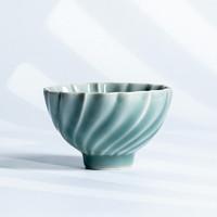 熹谷 龙泉青瓷 旋纹杯主人杯品茗杯
