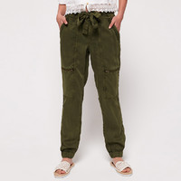 Superdry/极度干燥 G70103TTF2L工装长裤束脚长裤