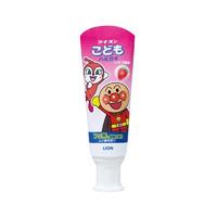LION 狮王 面包超人 酵素儿童护理牙膏草莓味 40g *3件