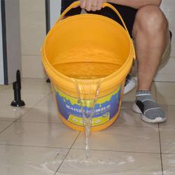 切瑞西免砸砖卫生间防水涂料透明防水胶 不带桶500gA料+50gB料约1-3平