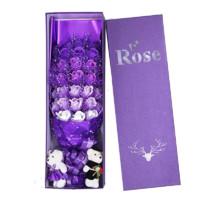 普拉度 婦女節玫瑰花禮盒生日禮物送女朋友