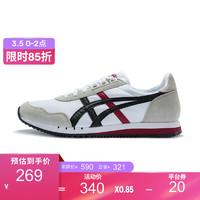 Onitsuka Tiger/鬼塚虎DUALIO虎爪纹复古运动鞋男女休闲鞋 D6K3N-100 白色 39.5