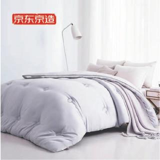 京东京造 水洗棉柔被 春秋被150*200cm 约3.3斤 超蓬透气纤维 恒温调湿技术 可水洗