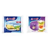 PLUS会员:Anchor 安佳 切达奶酪芝士片 100g*2袋