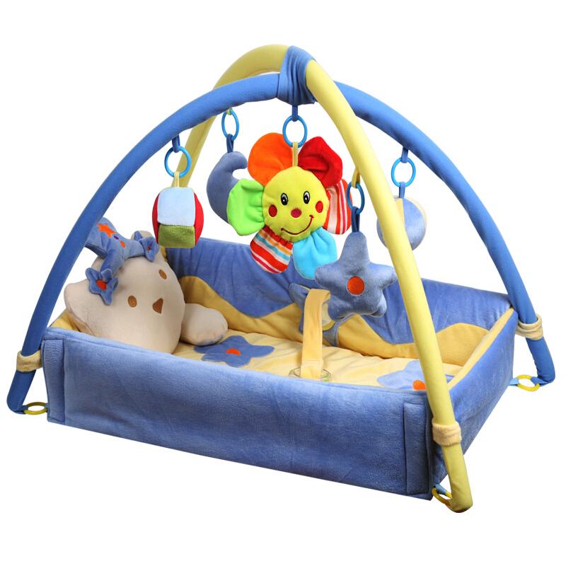 cutie babay 贝多喜 BDX01 健身架 蓝色熊床