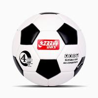 FS103-4兒童足球耐磨真皮腳感青少年訓練4號球娛樂訓練比賽專用球
