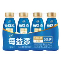 yili 伊利 每益添 活菌型乳酸菌饮品 原味 350ml*4瓶
