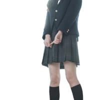 ZONPER 中牌 碳灰 JK制服 女士格裙 42cm XXL