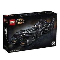 黑卡会员:LEGO 乐高 超级英雄系列 76139 1989Batmobile 蝙蝠战车