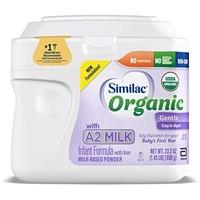 Abbott 雅培 Similac 铂优恩美力 Organic A2婴儿奶粉 1段  658克