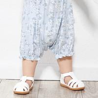 巴拉巴拉婴儿鞋子女软底防滑男童学步鞋新款夏季包头凉鞋