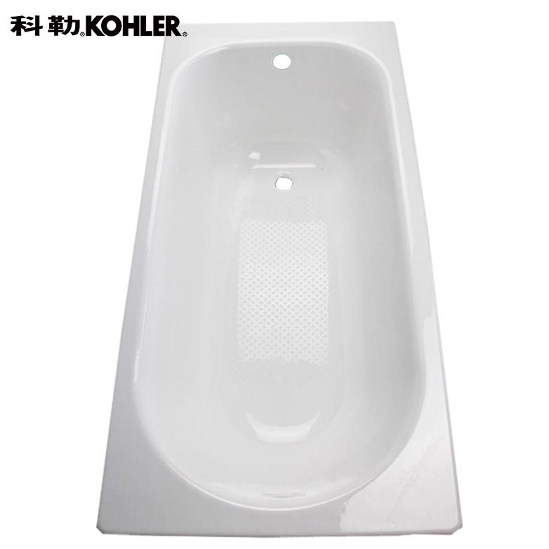 苏宁SUPER会员 : KOHLER 科勒 K-941T-0 索尚嵌入式铸铁浴缸 无扶手