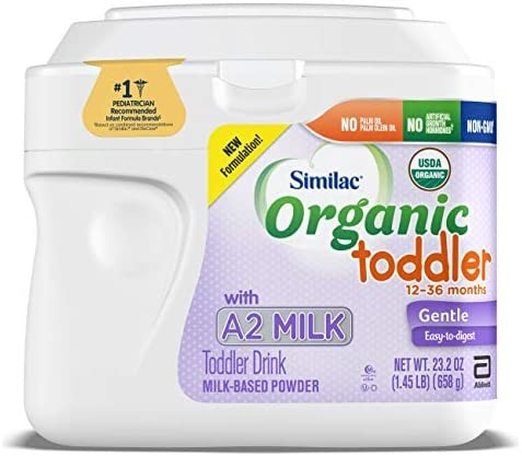 Abbott 雅培 Similac 恩美力 Organic Toddler Drink with A2 六件套