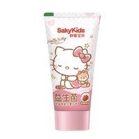 Saky 舒客 優益防蛀系列 兒童牙膏 凱蒂貓女孩款 草莓味 60g