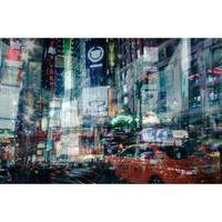 艺术品 : 罗马艺术家 阿莱西奥·特雷罗托雷 作品《不夜纽约》
