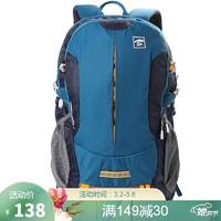 探路者(TOREAD)登山包 户外男女通款30升双肩背包 徒步旅行背包 ZEBF80609 铁矿蓝/藏蓝 *5件