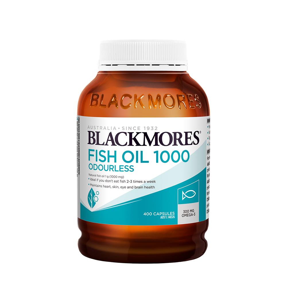 BLACKMORES 澳佳宝 鱼油软胶囊 400粒