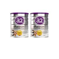 a2 艾尔 Platinum 白金版 婴幼儿奶粉  3段 900g  3段*2罐