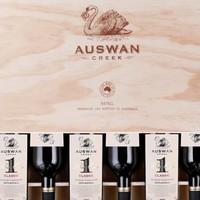 AUSWAN CREEK 天鹅庄 1号经典西拉 赤霞珠干红葡萄酒 750ml*6瓶