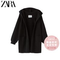 ZARA 新款 童裝女童 針織連帽外套 08082604800