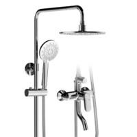 JOMOO 九牧 36457-592/1B-1 淋浴花洒套装 升级防烫款