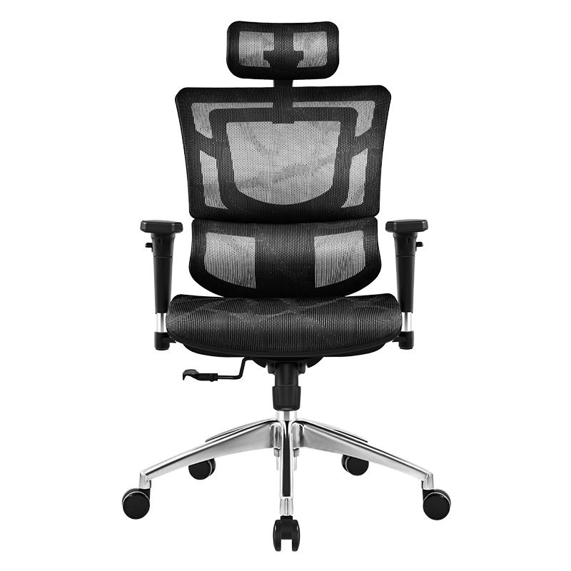 SITZONE DS-001 人体工学电脑椅 A1黑色标准版