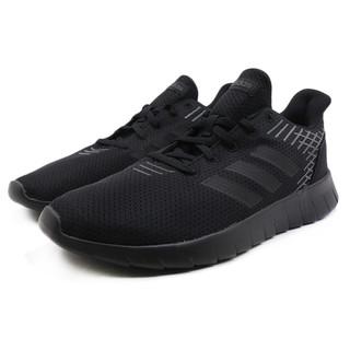 adidas 阿迪达斯  Asweerun 中性跑鞋 F36333 黑色 44