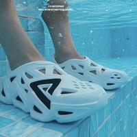 新品發售 : PEAK 匹克 態極 E12005L 男子洞洞涼鞋