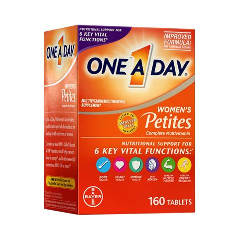 88VIP:One A Day 拜耳 女士复合维生素小粒装 160粒 *2件