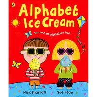 英文原版 Alphabet Ice Cream 名家Nick Sharratt 吴敏兰书单
