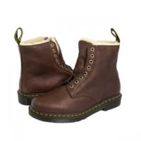 Dr.Martens 馬汀博士 1460 PASCAL 短絨毛內里馬丁靴